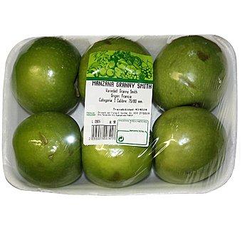 Manzanas granny smith Girona Bandeja de 1,1 kg peso aproximado
