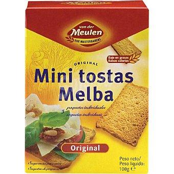 VANDER MEULEN Tostada melba original Paquete 100 g 30 unidades