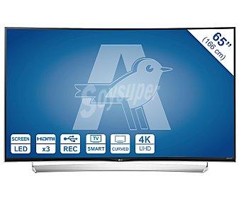 """LG Electronics Televisión 65"""" LED LG 65UG870V pantalla Curva, 4K, smart TV, wifi, 3D, USB reproductor y grabador, hdmi, 2000HZ. Televisor de gran formato 65"""" LED UHD 65UG870V curva"""