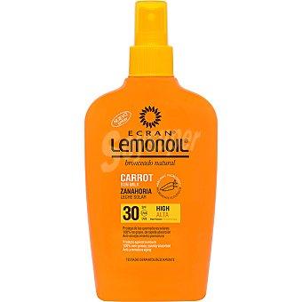 Ecran Aftersun Leche Solar FP 30 Ecran Lemonoil Zanahoria 200 ml