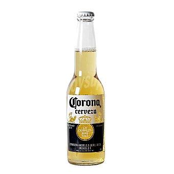 Coronita Cerveza mexicana rubia  Botellín 355 ml
