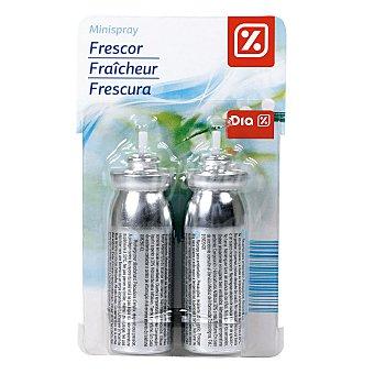 DIA Ambientador mini spray aroma frescor recambio 2 ud