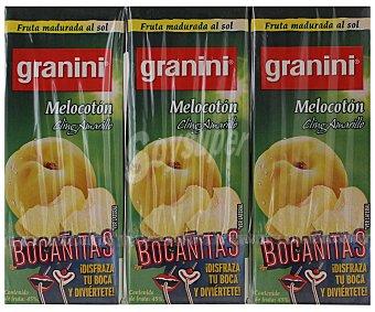 Granini Néctar de melocotón Pack 3x20 cl
