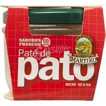 Martiko Paté de pato Tarro 100 g