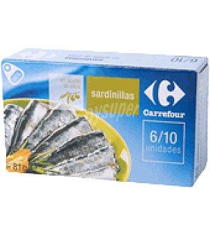 Carrefour Sardinillas en aceite de oliva 57 g