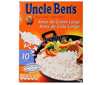 Uncle Bens Arroz vaporizado grano largo 1 Kilogramo
