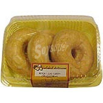HIPERCOR rosquilla producción propia bandeja 210 g 3 unidades