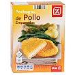 Pechugas de pollo empanadas Caja 320 g DIA