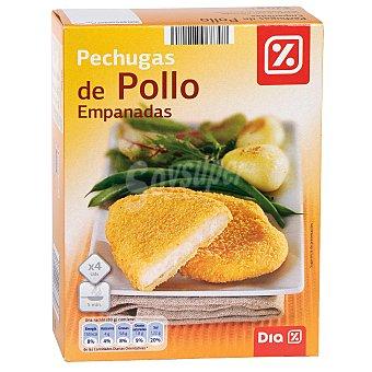 DIA Pechugas de pollo empanadas caja 320 gr 320 gr