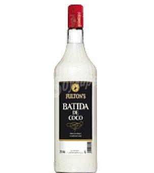 Fulton's Licor batida coco Botella de 1 l