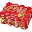 Refresco de cola sin cafeína 12 latas de 15 cl Coca-Cola