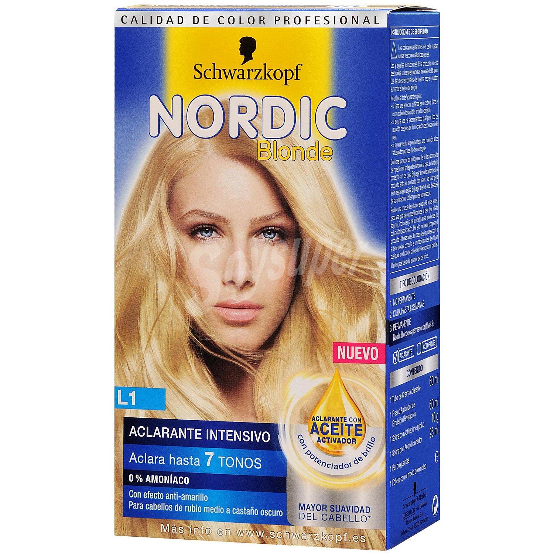 Nordic Color Aclarante Permanente Nordic Blonde 1 Ud