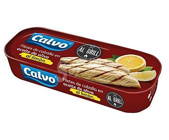 Calvo Filetes de caballa al limón grill Lata 120 g (65 g neto escurrido)