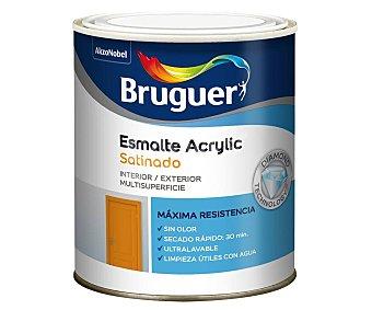 Hidalgo Esmalte Acrylic Satinado color blanco algodón 0,75 litros