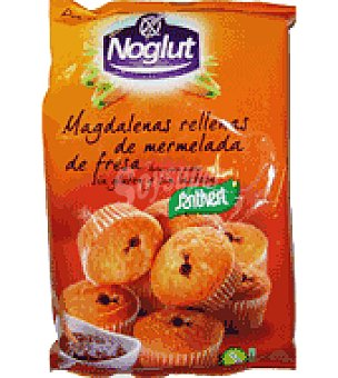 Santiveri Noglut magdalenas rellenas cacao 205 g.