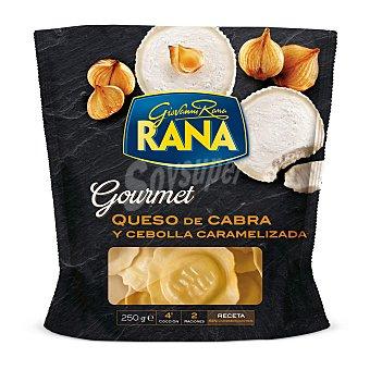 Rana Ravioli de queso de cabra y cebolla caramelizada gourmet Bolsa 250 g
