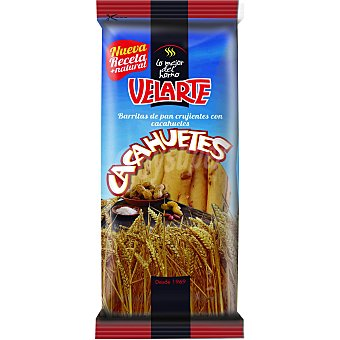 Velarte Barritas de pan crujientes con cacahuete 80 g