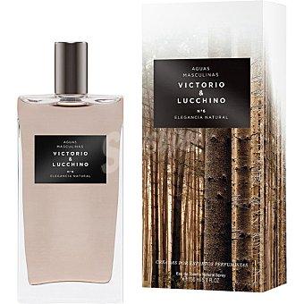 Victorio & Luccino Nº6 Elegancia Natural eau de toilette natural masculina spray 150 ml spray 150 ml