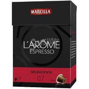 L'Arôme Espresso Marcilla Cápsulas Splendente 70u