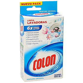 Colón Limpia lavadora Caja 250 ml
