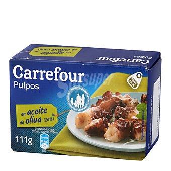 Carrefour Pulpo con aceite de oliva 111 g