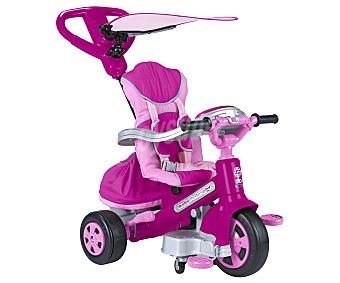 FEBER Triciclo Evolutivo Modelo Baby Twist de Color Rosa 1 Unidad