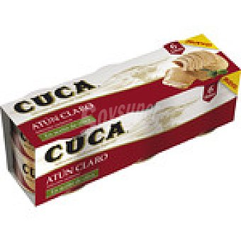 Cuca Atún claro en aceite de oliva Pack 6 latas 48 g