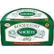 Queso roquefort elaborado con leche cruda D.O.P 100 gramos Société