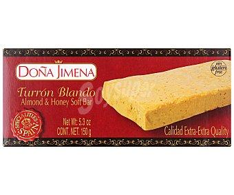 DOÑA JIMENA Turrón blando extra 150 gramos