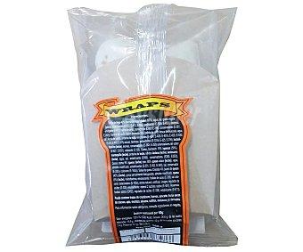 Lord Sandwiches Snack tipo wrap relleno de jamón y queso 160 gramos