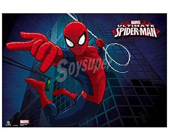 ERIK Tapete escolar con la imagén de Spiderman de 34.5x49.5 centímetros 1 unidad