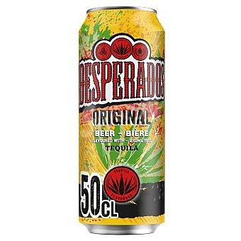 Desperados Cerveza rubia con tequila Lata de 50 cl