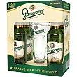 Cerveza rubia lager checa Pack 4 x 33 cl Staropramen