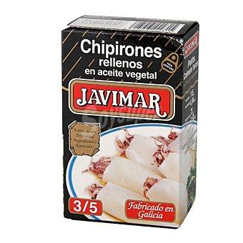 Javimar Chipirones rellenos en aceite vegetal 72 g