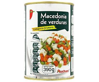Auchan Macedonia de verduras 240 g