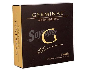 Germinal Ampollas acción inmediata vitalizador de la piel  Pack 5 u x 1.5 ml