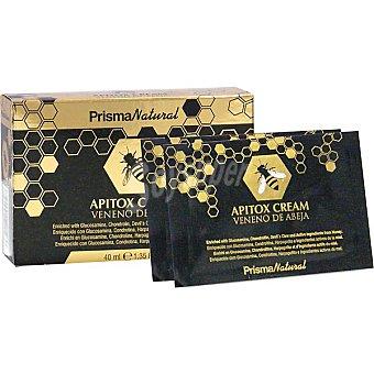 PRISMA NATURAL Apitox crema alivio del dolor 10 sobres de envase 40 ml 4ml