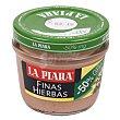 Paté a las finas hierbas -50% grasa Tarro 100 g La Piara