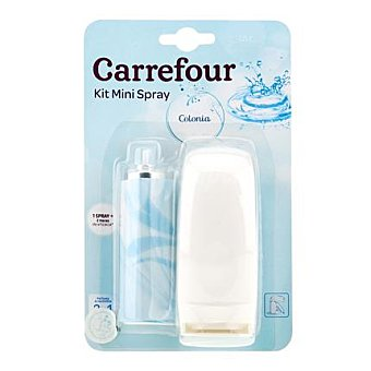 Carrefour Ambientador mini spray Colonia aparato+recambio 1 ud