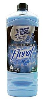 Bosque Verde Suavizante ropa concentrado floral (larga duracion) Botella 2 l