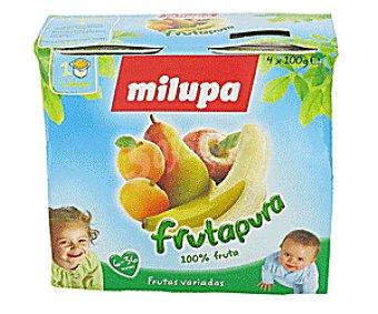 Milupa Tarritos de Frutas Variadas 4 Unidades de 100 Gramos