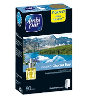 Ambipur Ambientador Electrico Alaska Glacier Bay Recambio 18 ml