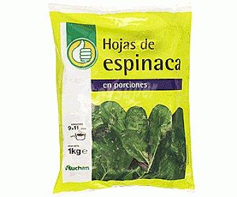Productos Económicos Alcampo Espinaca Porciones 1 Kilo