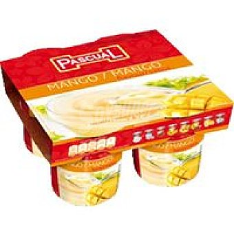 Pascual Natillas de chocolate Pack 4x125 g