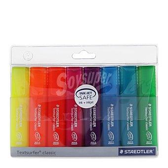 Staedtler Estuche de 8 Marcadores Fluorescentes Colores Surtidos 1 ud