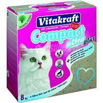 Vitakraft Arena aglomerante con silice gato Caja 8 kg