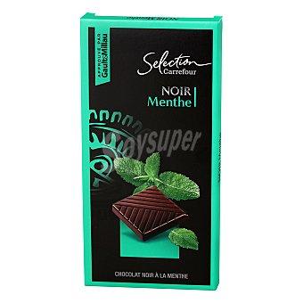 Carrefour Selección Chocolate negro menta 100 g
