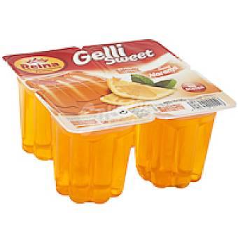 Postres Reina Gelatina de naranja Pack 4x100 g
