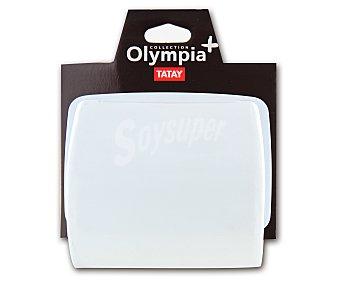 Tatay Porta rollos modelo Olympia, fabricado en Pvc blanco 1 Unidad