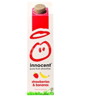 Innocent Yogur líquido de Fresas y Plátano 750 ml